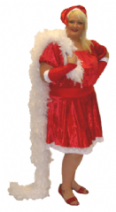 Sexy Mother Xmas Costume Plus Size